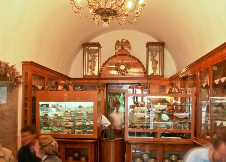 Budapest, Cafe Ruszwurm