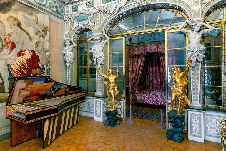 Ceremonial room, Palais Lascaris, Nice