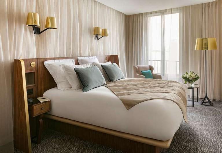 "Maison Albar Hotel Paris Céline describes itself as the ""Headquarters of Parisian Chic""."