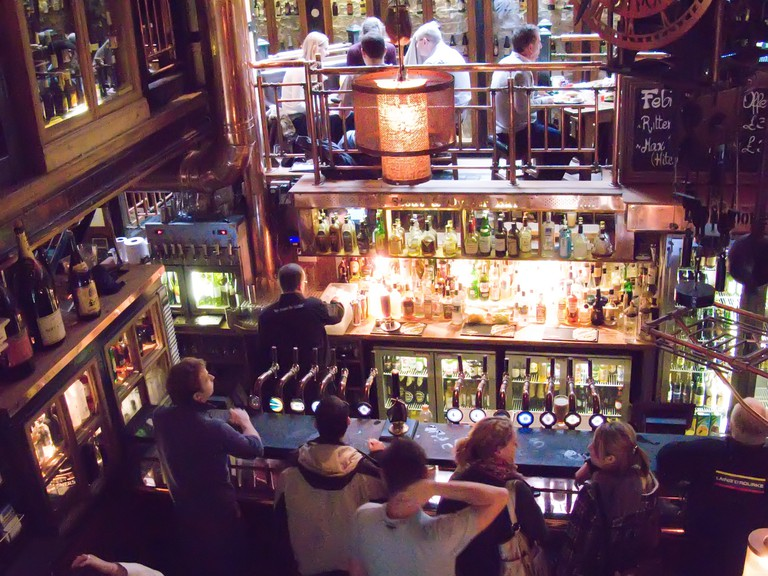 The Porterhouse in Covent Garden has many levels.