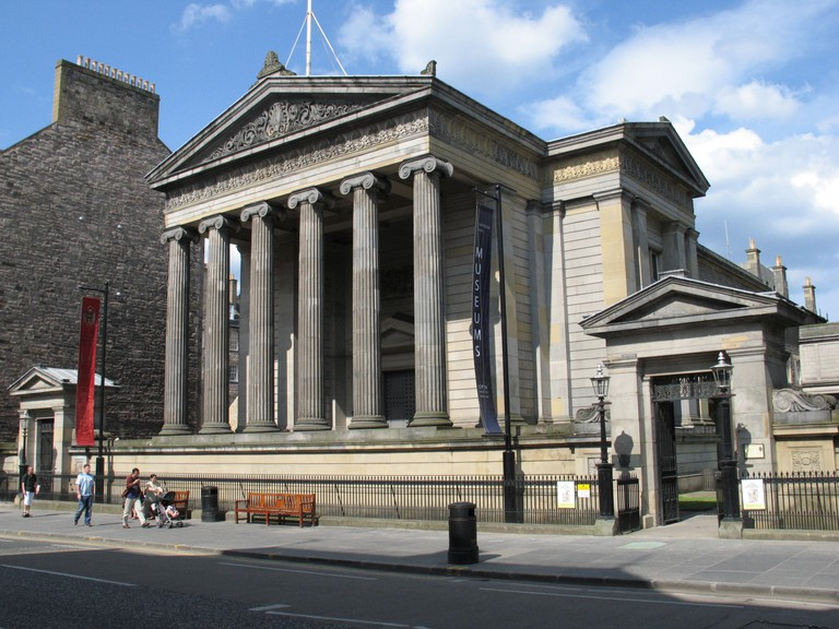 Royal College of Surgeons on Nicholson Street, Edinburgh, Scotland, UK.