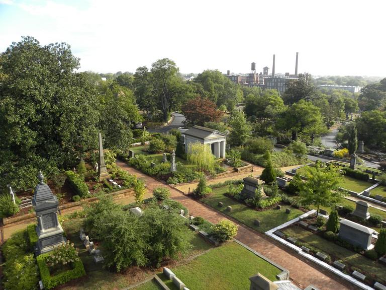 Oakland Cemetery, Oakland Avenue Southeast