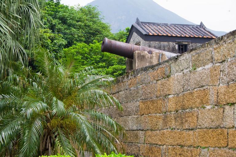 Cannon at Tung Chung Fort, Hong Kong