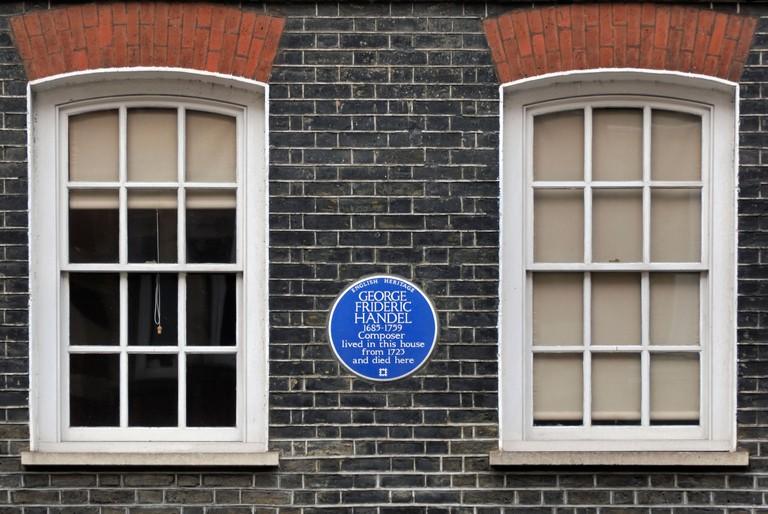 Handel Museum, Brook Street, London.