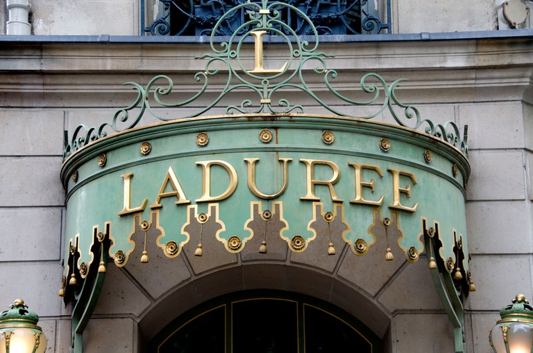 Laduree The Champs Elysees fashion Paris France