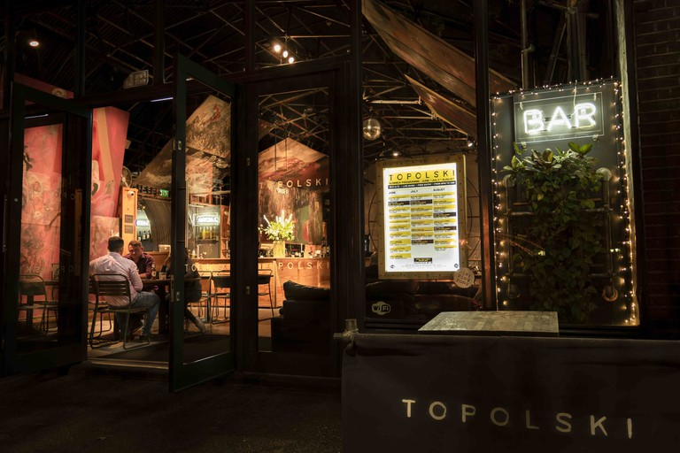 Topolski embodies South Bank's quirky, arty vibe