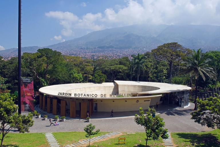 Jardin Botanico Joaquin Antonio Uribe (Botanical Gardens), Medellin, Colombia, South America