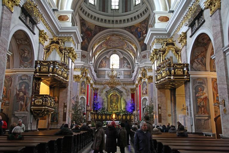 Cathedral of Saint Nicholas Ljubljana Slovenia Europe