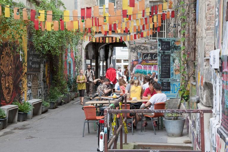 Cinema Cafe in Hackesche Hofe, Berlin, Germany