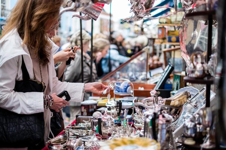 Portobello Road Market. Portobello Road forms the backbone of Notting Hill
