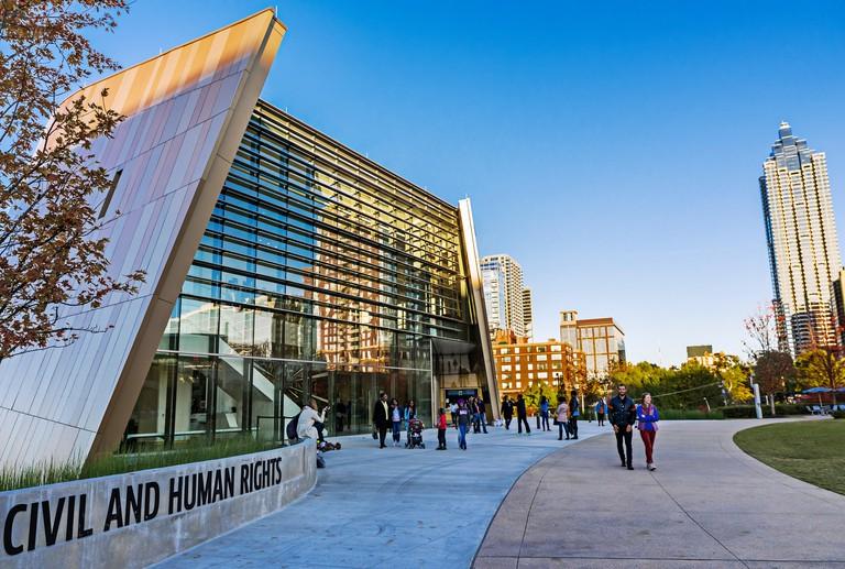 Center for Civil and Human Rights, Atlanta, Georgia, USA.