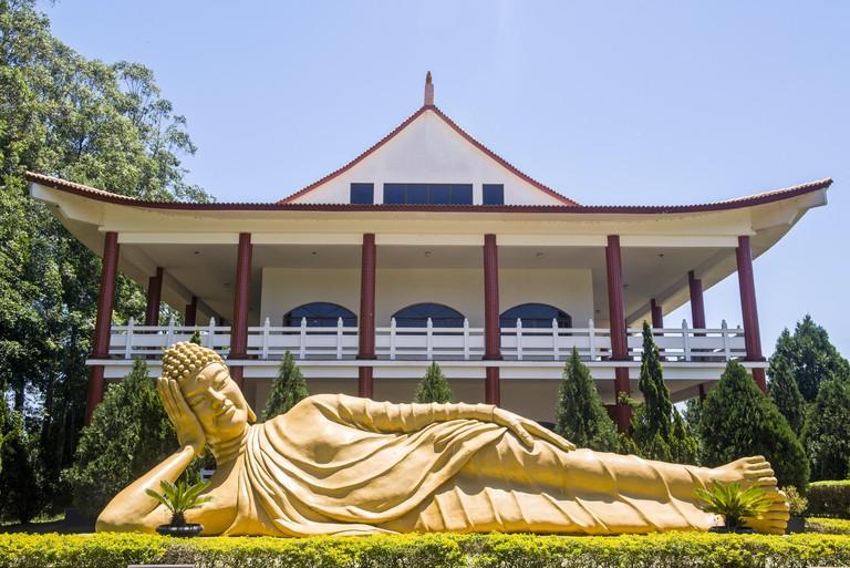 Buddhist Temple on the Foz do Iguacu