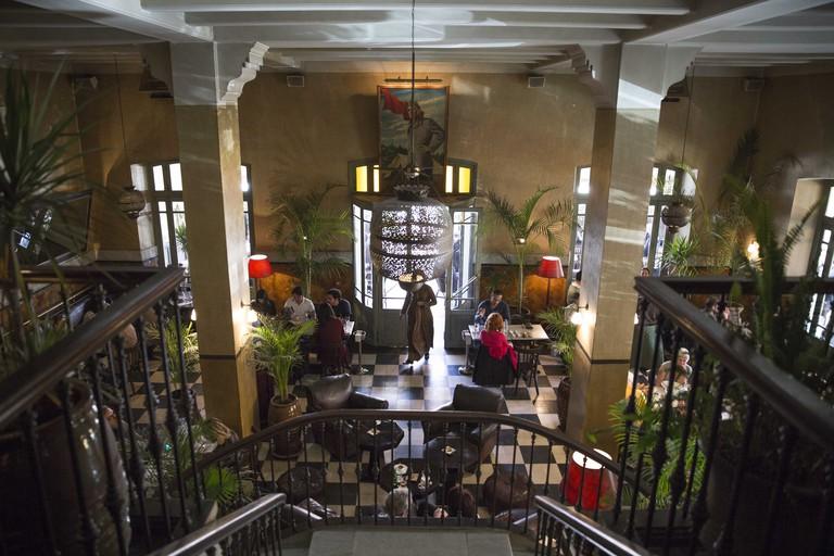Interior of Grand Cafe de la Poste