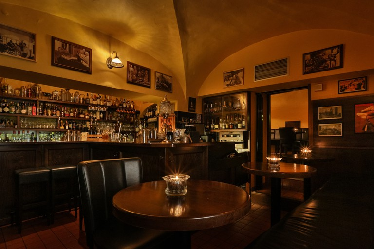 Hemingway Bar is in Prague's Old Town