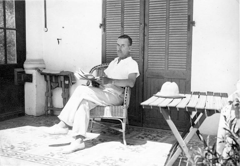 Thomas Mann in Sanary sur Mer 1933