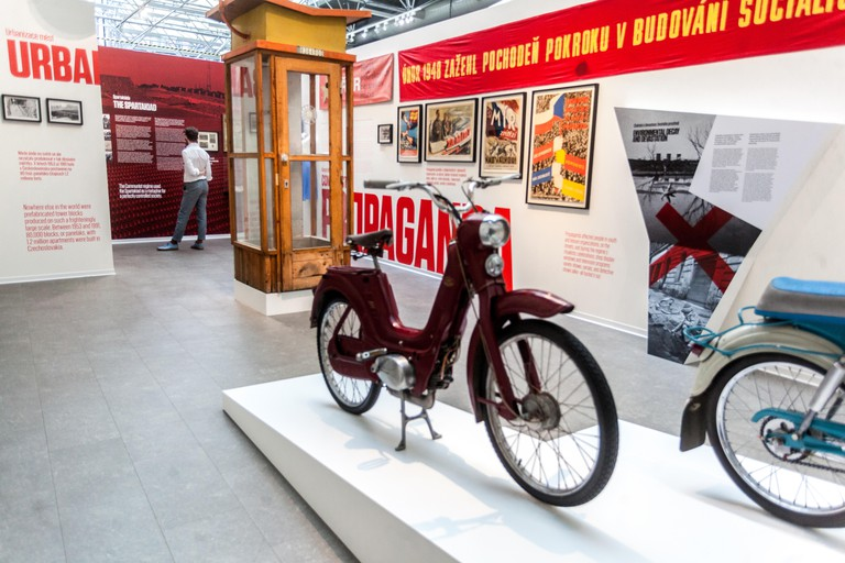 The Museum of Communism houses a number of post-World War II artefacts