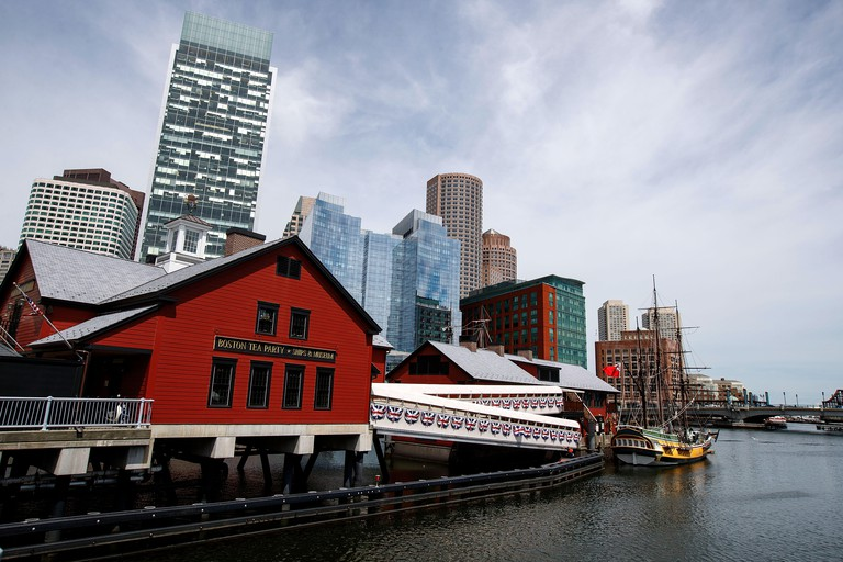 Boston Tea Party Ships and Museum, Boston, Massachusetts, United States of America