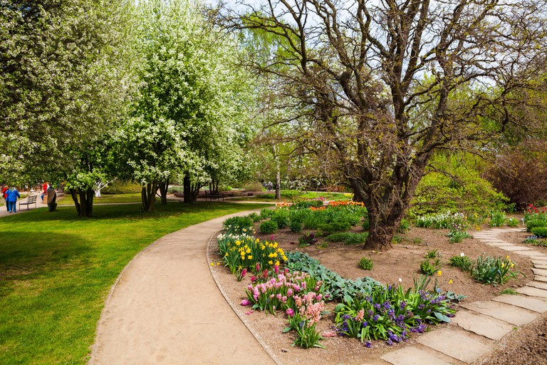 Botanická Zahrada in Prague features plants from around the world
