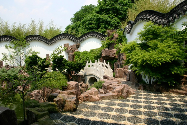 The New York Chinese Scholar's Garden is a tranquil place to take a stroll