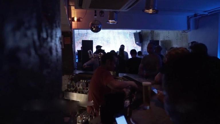 DJs at OMA predominately play house, techno and underground music