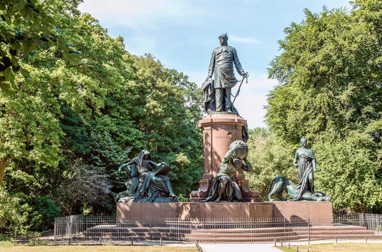 The Bismarck Memorial is one must-see in the Tiergarten