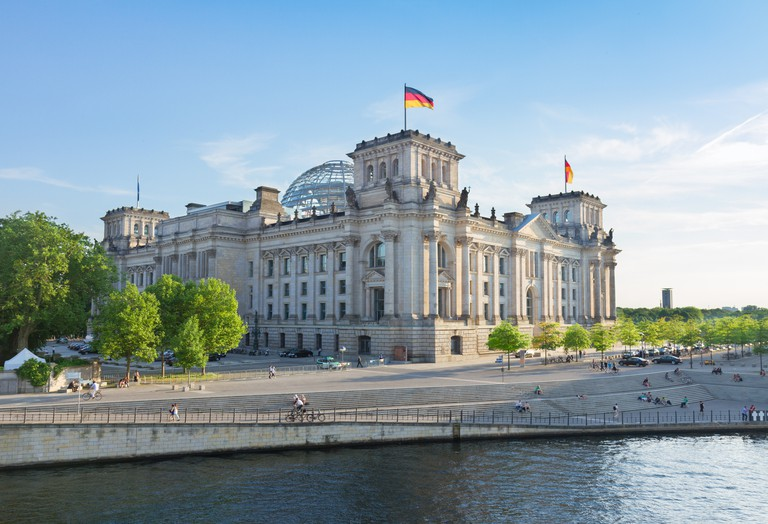 The Reichstag is the home of the German parliament