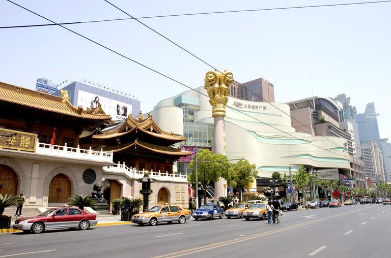 Malls on Nanjing Road