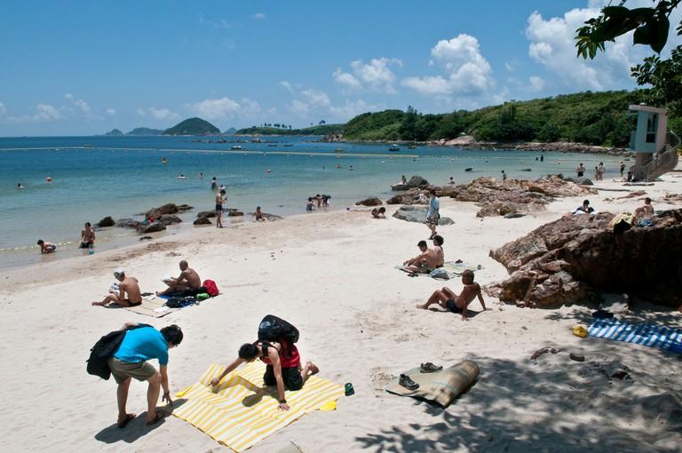 Those who hike Lung Ha Wan Country Trail can enjoy gorgeous coastal views