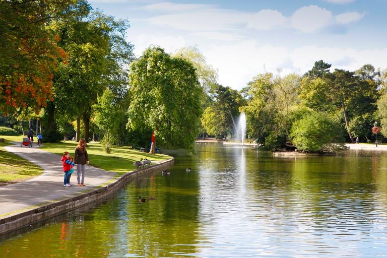 Cannon Hill Park, Edgbaston, Birmingham, West Midlands, England, UK
