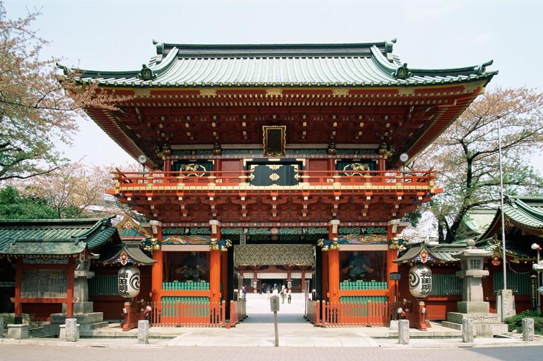 Kanda Myojin Shrine gateway, Tokyo