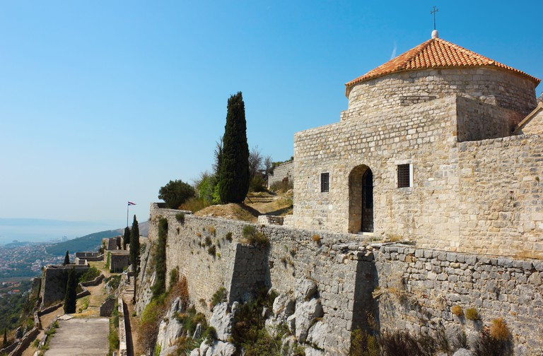 Fortress Klis near Split in Croatia.