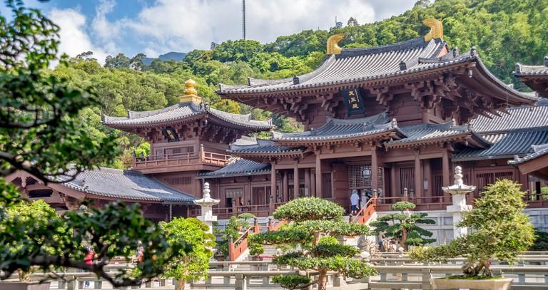 Chi Lin Nunnery, Kowloon, Hong Kong, China