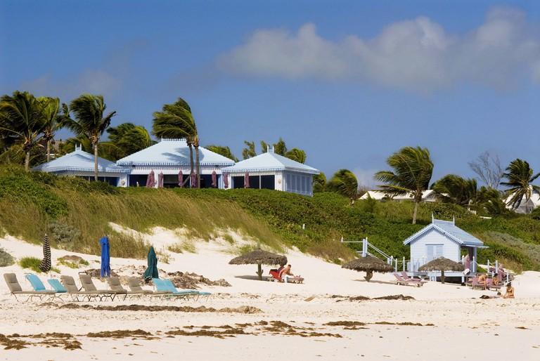 Pink Sand Beach. Dunmore Town, Harbour Island, Eleuthera. Bahamas