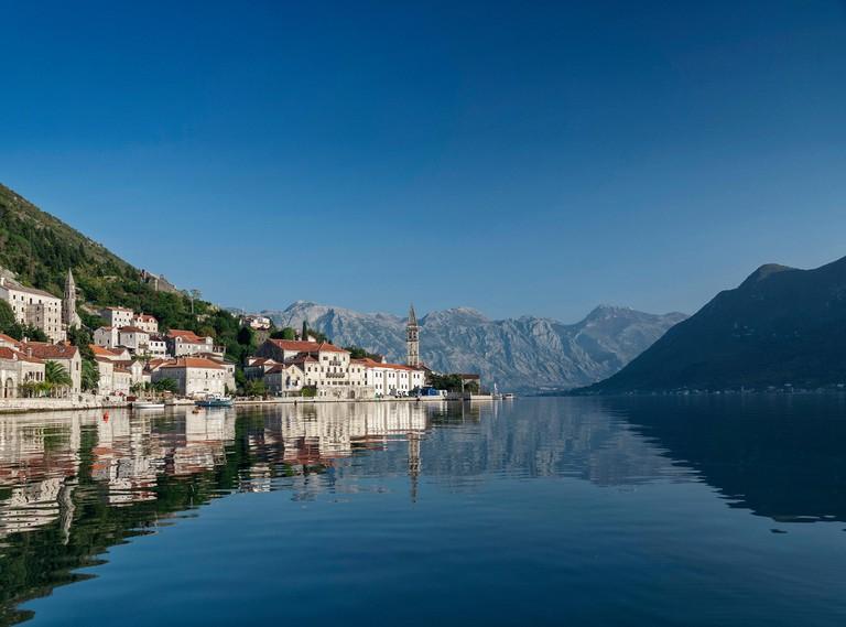 Kotor Bay in Montenegro