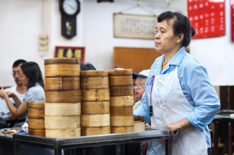 Lin Heung Tea House serves traditional dim sum