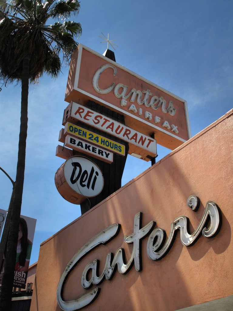 Canter's in Los Angeles, California.