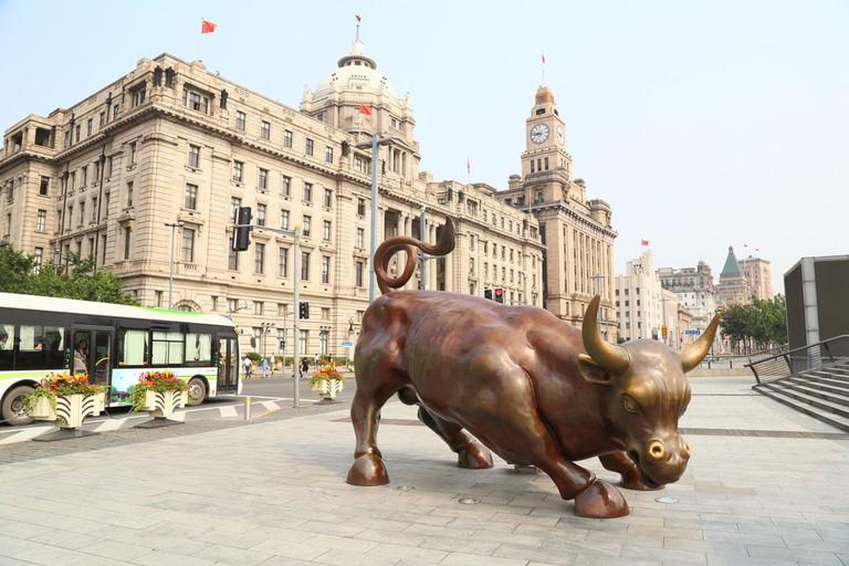 The Bund Bull, Shanghai