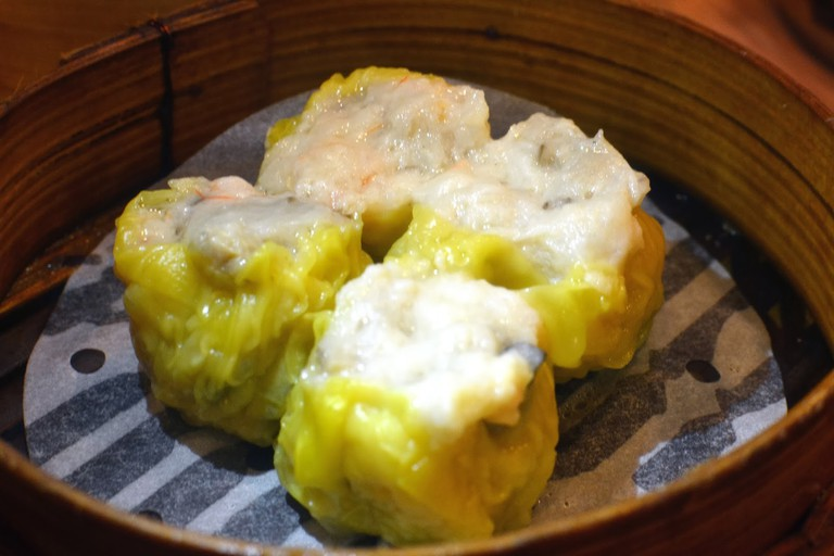 Tim Ho Wan steamed pork dumplings