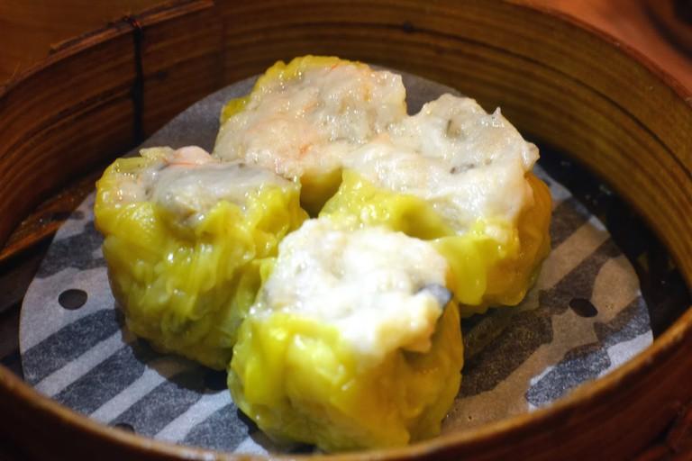 Tim Ho Wan steamed pork dumplings
