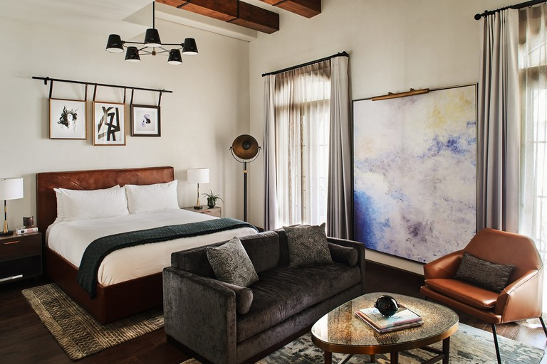 Each room has its own distinctive vibe, Hotel Figueroa, Los Angeles
