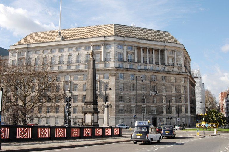 Mi5 Headquarters building. Thames House, London, UK. Image shot 2007. Exact date unknown.