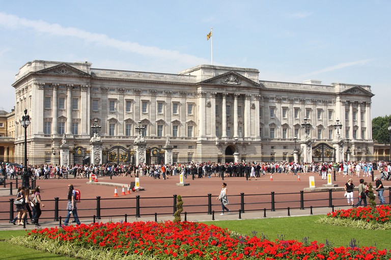 Buckingham Palace, London.