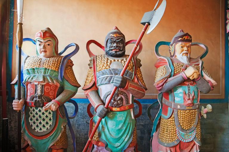 Dongyue Temple, Beijing Folk Custom Museum, Statues in the Lord Binglinggong Hall