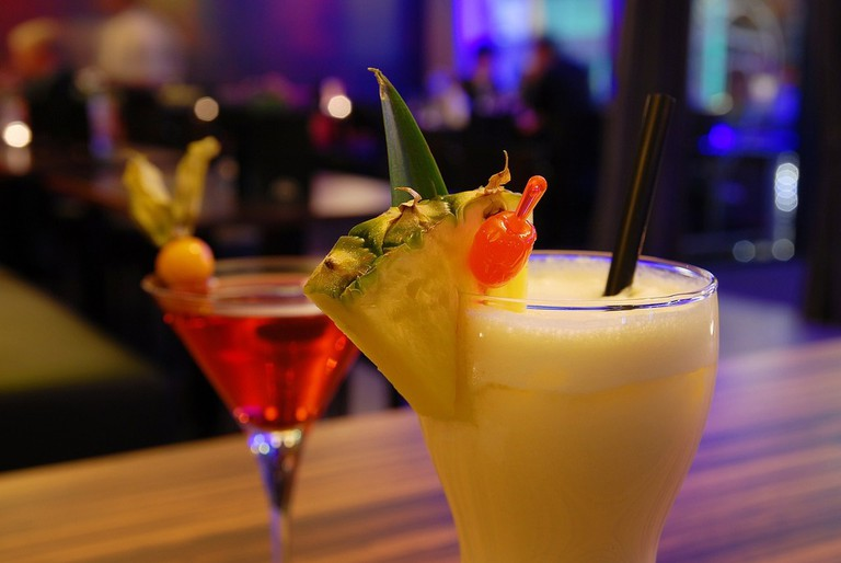 Enjoy some of their signature cocktails