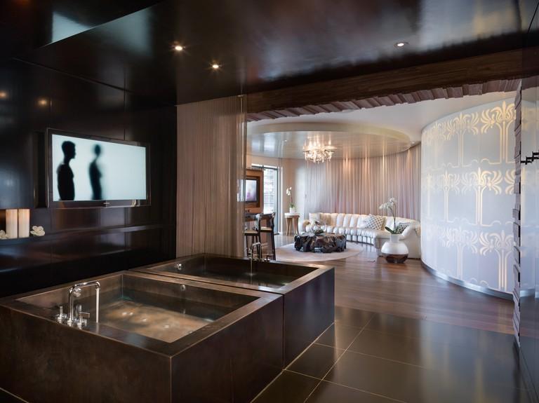 The Sahra Spa and Hammam at the Cosmopolitan Hotel in Las Vegas, NV, USA.