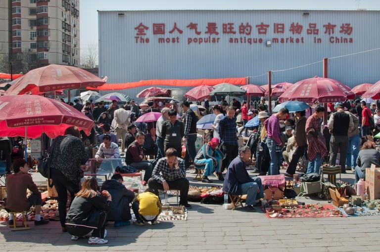Panjiayuan antique market, Beijing