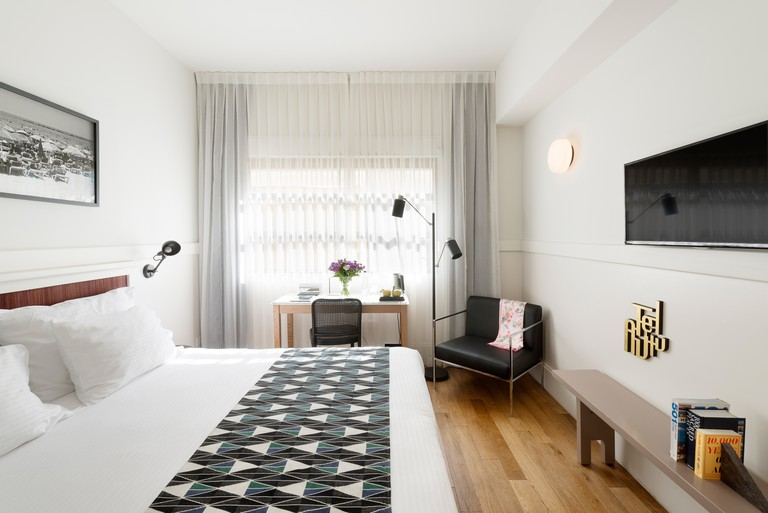 Rooms are light and modern