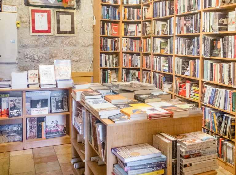 The Bookshop in the American Colony Hotel, Jerusalem Israel