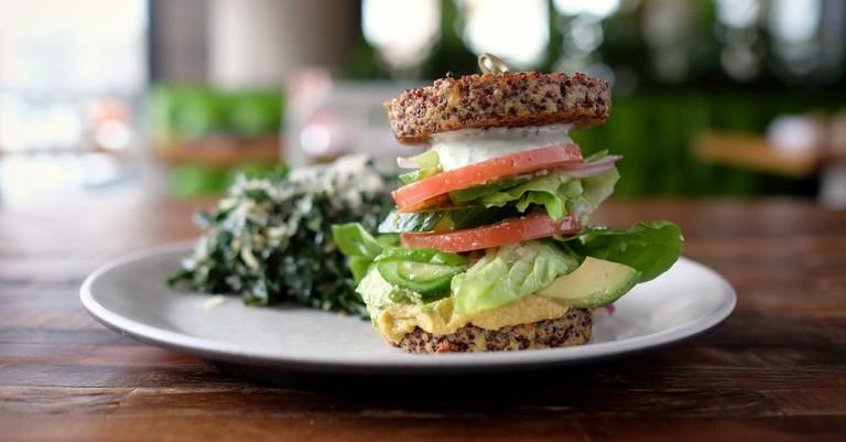 True Kitchen Inside Out Quinoa Burger