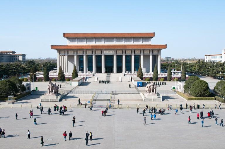 Chairman Mao Memorial Hall (Mausoleum of Mao Zedong) in Beijing